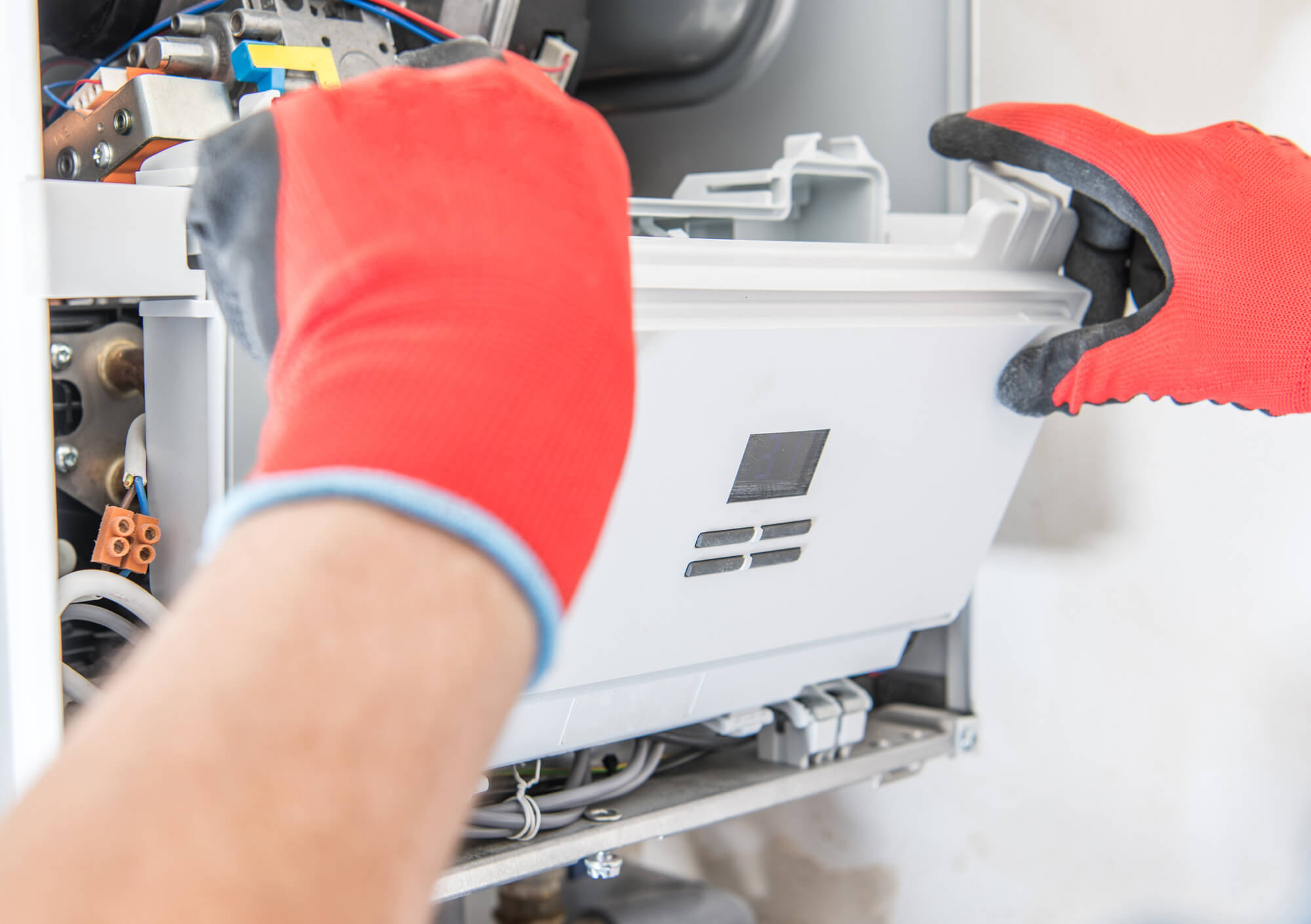 Fixing the boiler
