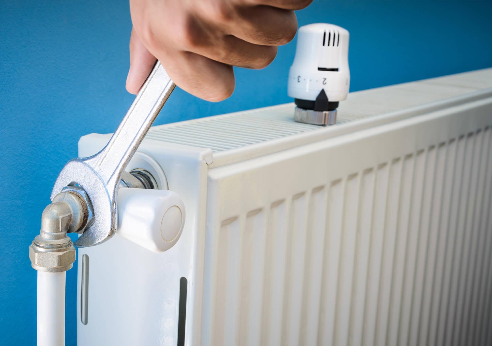 Fixing the radiator