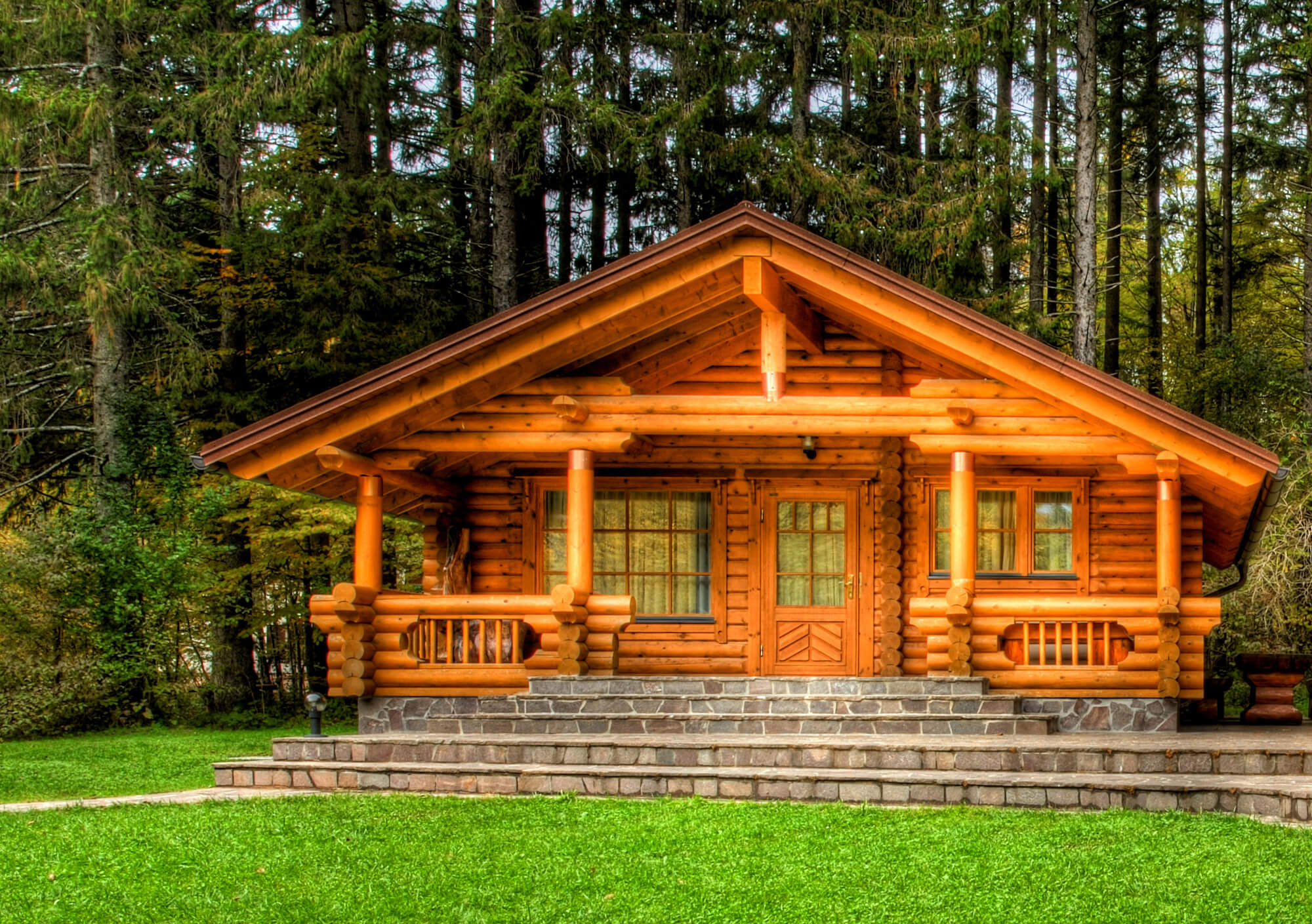 Wooden Lodge Holiday