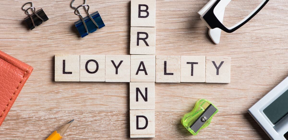 Brand Loyalty wooden blocks