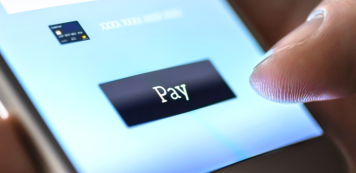 Online app payment