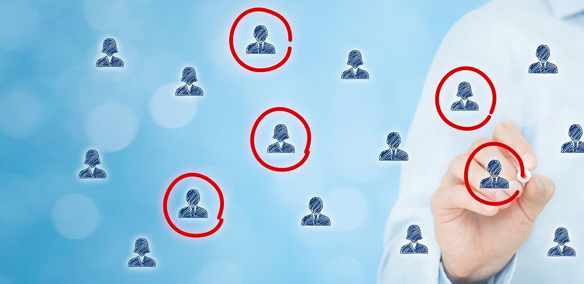 Identifying customers for segmentation
