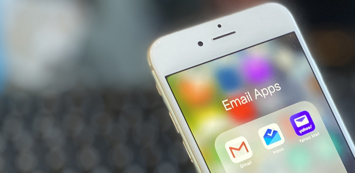 Email apps on mobile