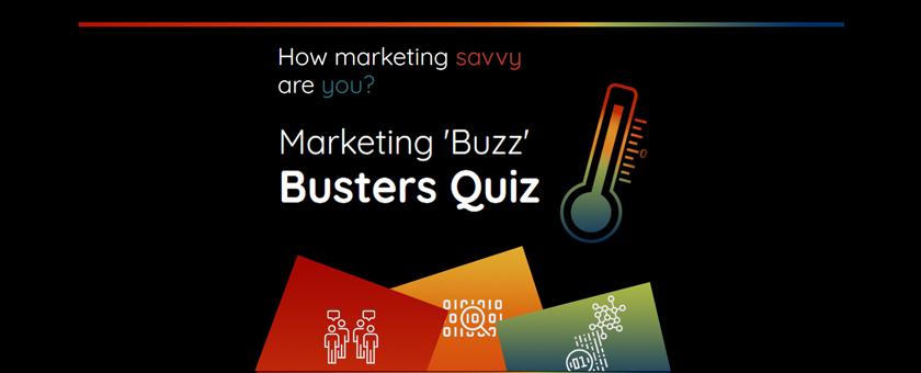 Marketing Buzz Busters quiz