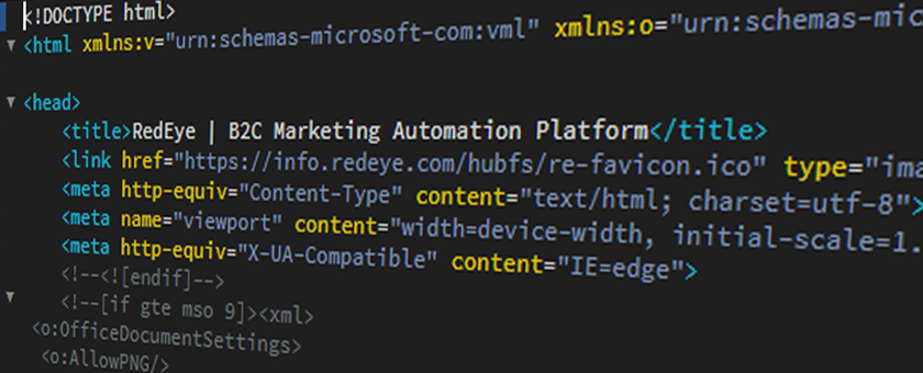 HTML email coding with favicons