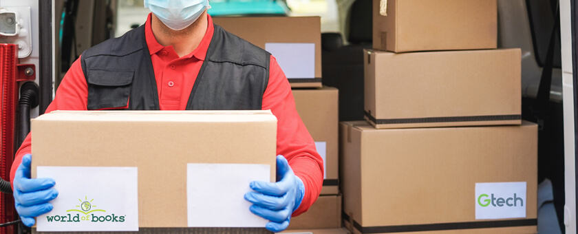 Deliveries in a pandemic