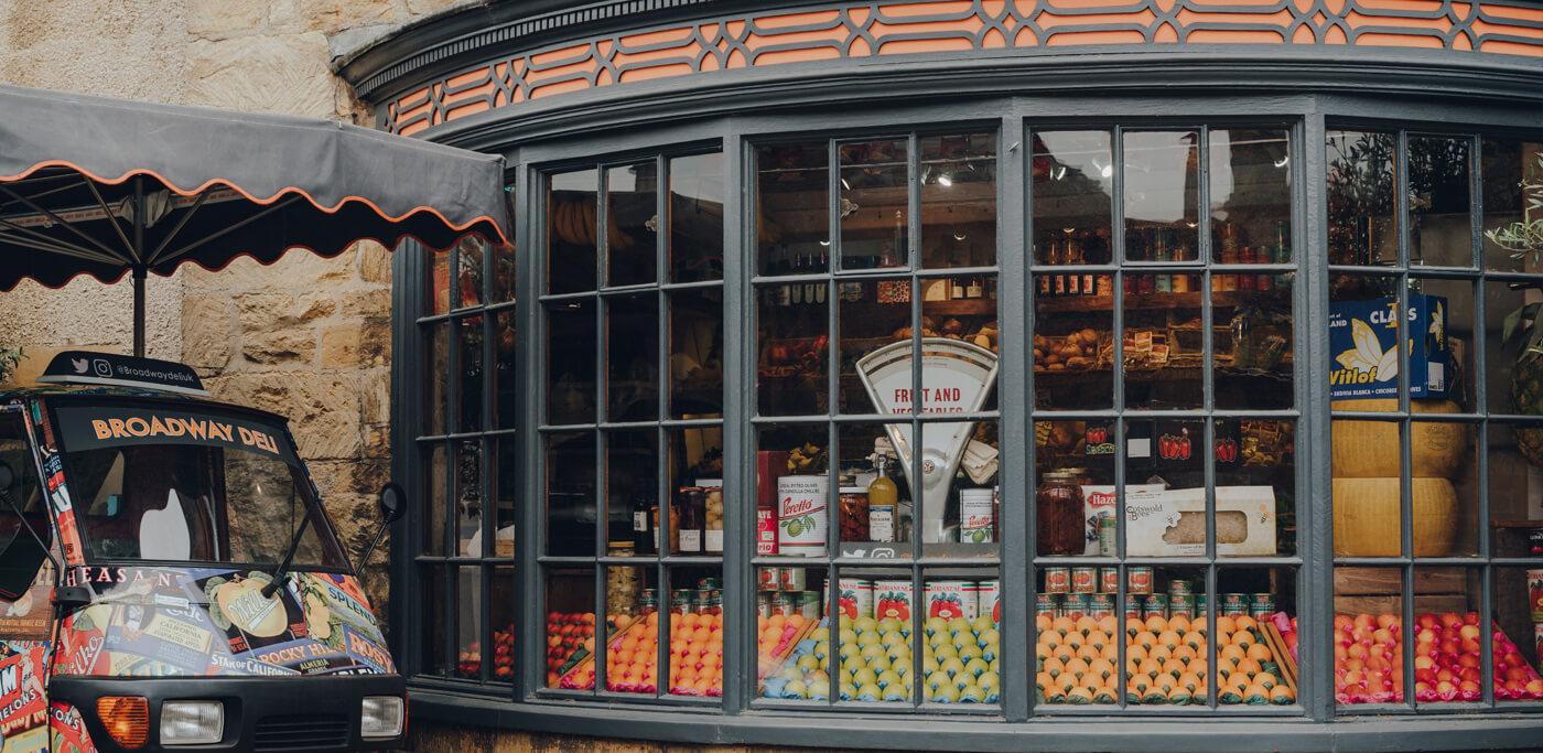 Old Village grocery shop